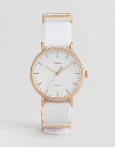 Часы с парусиновым ремешком Timex TW2R49100 - Белый