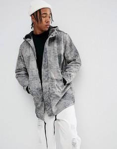 Кожаная куртка Weekday Alliance - Серый