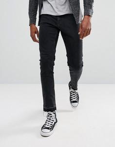 Черные джинсы скинни Weekday Friday - Синий