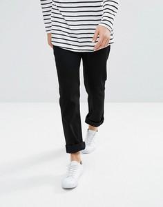 Черные прямые джинсы Weekday Vacant - Черный