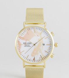 Часы с окошком даты Reclaimed Vintage Inspired эксклюзивно для ASOS - Золотой
