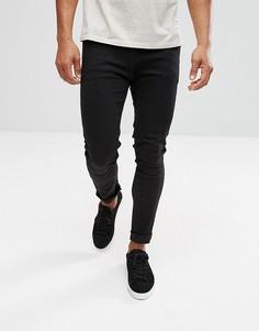 Черные джинсы скинни boohooMAN - Черный