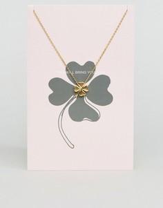 Ожерелье с подвеской Pieces - Мульти