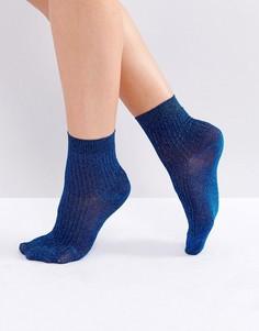 Носки с блестками Gestuz - Синий