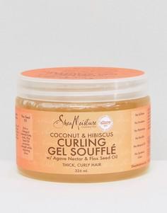 Гель-суфле для вьющихся волос с экстрактами кокоса и гибискуса Shea Moisture - Бесцветный