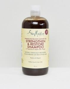 Укрепляющий шампунь с черным касторовым маслом Shea Moisture - Бесцветный