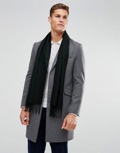 Трикотажный шарф Burton Menswear - Черный