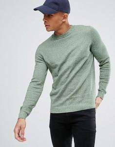 Зеленый меланжевый джемпер New Look - Зеленый