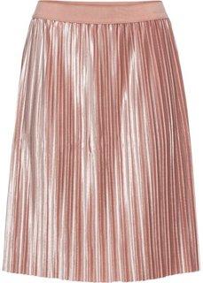 Бархатная юбка (розовый) Bonprix