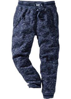Меланжевые спортивные брюки (темно-синий меланж) Bonprix