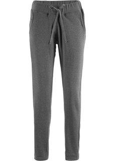 Трикотажные брюки дизайна Maite Kelly (серый меланж) Bonprix