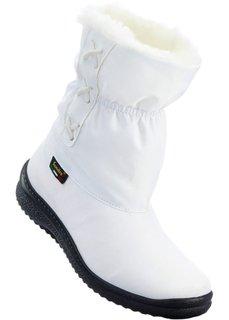 Полусапожки для любой погоды (белый) Bonprix