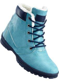 Зимние ботинки (бирюзовый) Bonprix