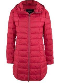 Легкое пальто-пуховик (темно-красный) Bonprix