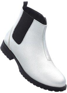 Ботинки (серебристый) Bonprix