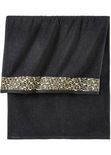 Полотенце для рук Фауна (с леопардовым рисунком) Bonprix