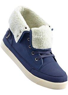Ботинки на шнуровке (индиго) Bonprix