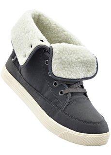 Ботинки на шнуровке (шиферно-серый) Bonprix