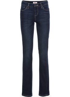 Узкие стрейчевые джинсы, cредний рост (N) (темно-синий) Bonprix