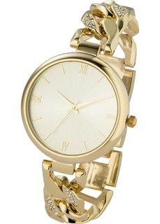 Металлические наручные часы (золотистый) Bonprix