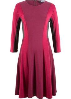 Римское платье от дизайнера Maite Kelly (красный рододендрон/красный гранат/шиферно-серый) Bonprix