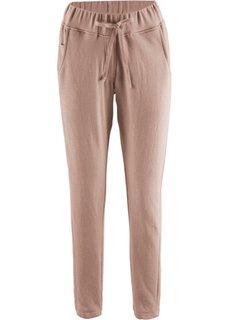 Трикотажные брюки дизайна Maite Kelly (серо-коричневый) Bonprix