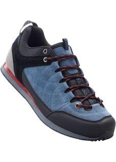 Трекинговые кроссовки (черный/синий) Bonprix