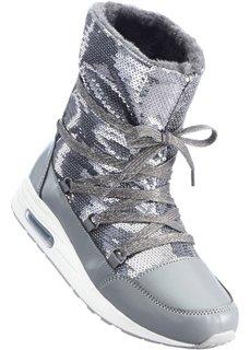 Зимние ботинки (серый) Bonprix