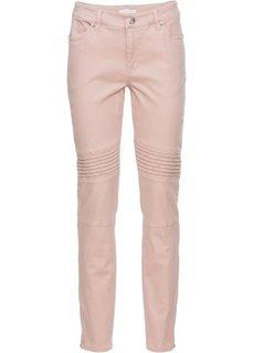 Стрейчевые брюки-дудочки (винтажно-розовый) Bonprix