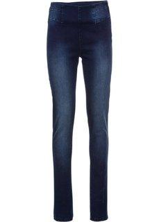 Стрейчевые джинсы-дудочки, cредний рост (N) (темно-синий) Bonprix