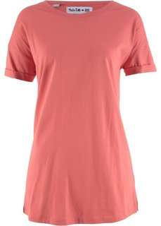 Удлиненная футболка с коротким рукавом − дизайн от Maite Kelly (красный) Bonprix