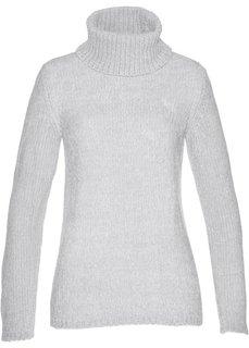Пуловер (серебристый матовый) Bonprix