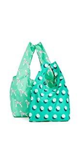BAGGU Dalmation Bag Set