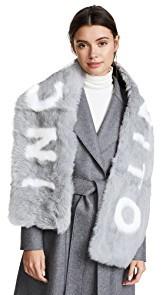 Eugenia Kim Colden INCOGNITO Fur Scarf