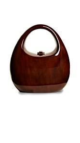 ROCIO Viola Round Bag