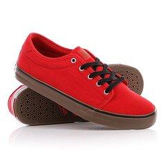 Кеды кроссовки Dekline Santa Fe Red/Gum