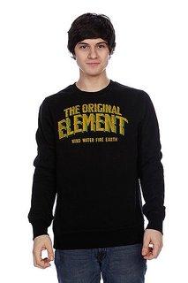 Толстовка Element Progress Crew Black