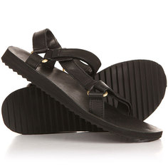Сандалии женские Teva Original Universal Crafted Leather Black