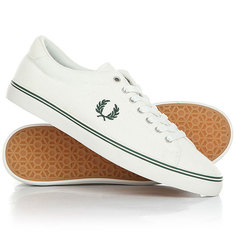 Кеды кроссовки низкие Fred Perry B721 Leather White