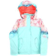 Куртка утепленная детская Roxy Jetty Blo Neon Grapefruit