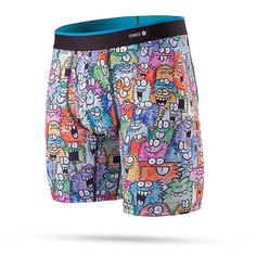 Трусы Stance The Boxer Brief Monster Party