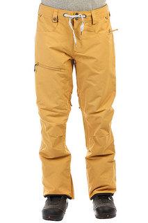 Штаны сноубордические Quiksilver Forest Oak Mustard Gold