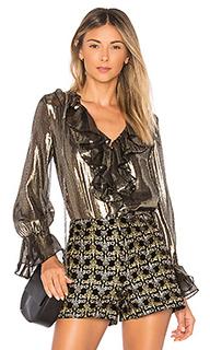 Блуза с рюшами elliot - Alice + Olivia