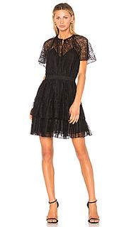 Кружевное мини-платье plume - Lover