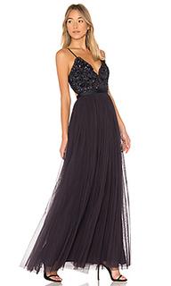 Вечернее платье midnight lace - Needle & Thread