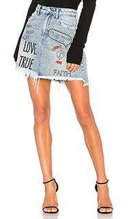 Мини юбка с вышивкой - PRPS Goods & Co