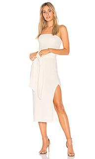 Платье миди luxe rib bow - Rachel Pally