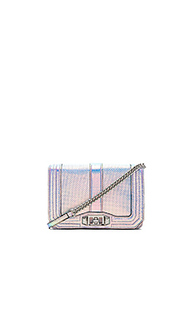 Сумка small love hologram crossbody - Rebecca Minkoff