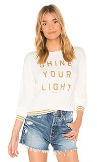 Топ с длинным рукавом shine your light - Spiritual Gangster