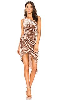 Платье с асимметричным подолом sasha - STYLESTALKER